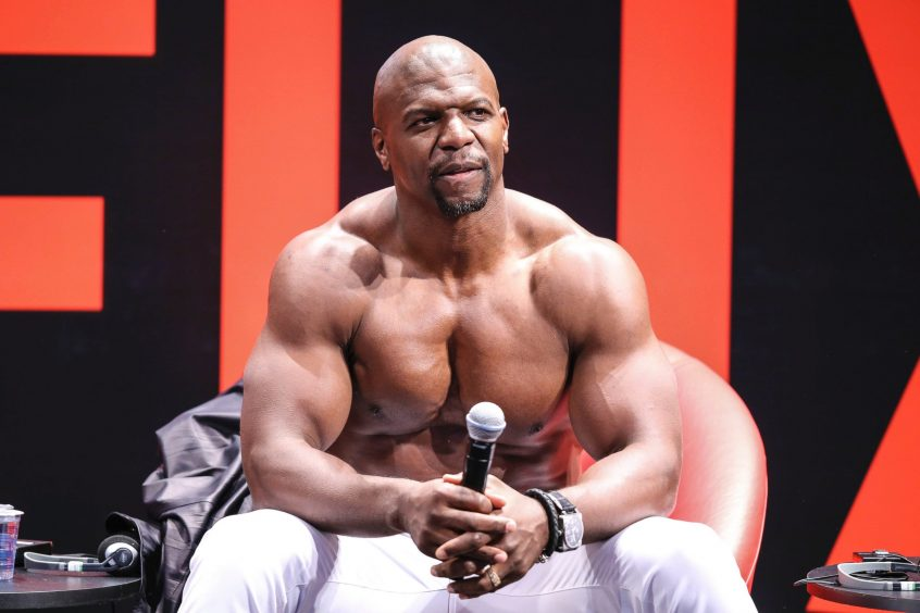 is terry crews on steroids