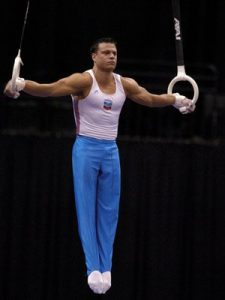 male gymnast workout routine
