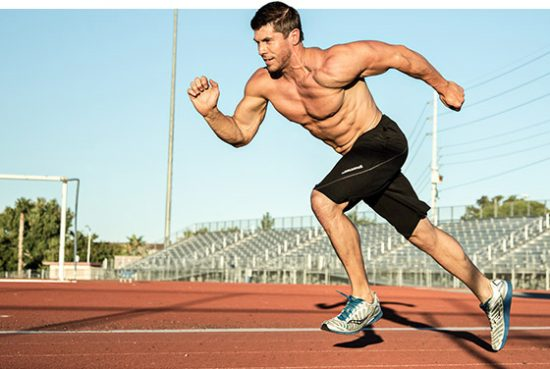 Running and leaning muscle mass